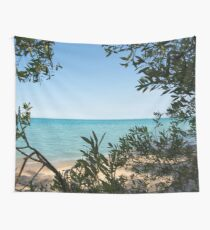 Beach, Lake House, Great Lakes Wall Tapestry