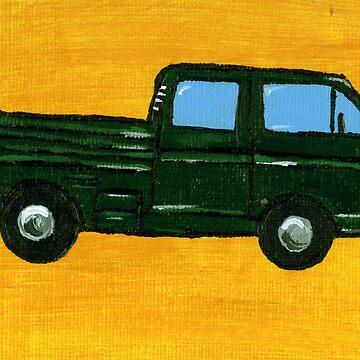 VW Green Double Cab Doka by vschmidt