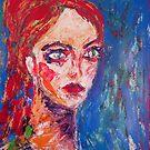 Angry girl, 2010 by Thelma Van Rensburg