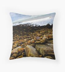 Tricky, Slippery and Classic UK Point Throw Pillow