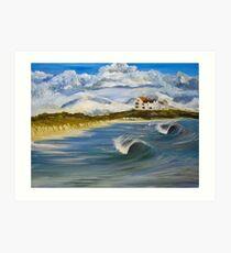 Broad Beach, Anglesey Art Print
