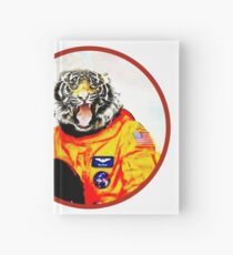 Astronaut Tiger Hardcover Journal