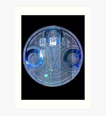 Time Lord Seal Art Print