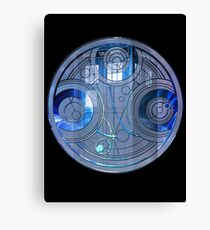 Time Lord Seal Canvas Print