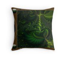 Bio-Tech Colony Throw Pillow