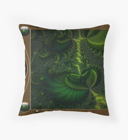 Bio-Tech Colony Throw Pillow