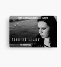More official 'Turner's Island' merchandise! From Parts Unknown Pictures Canvas Print
