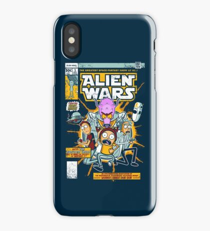 Alien Wars iPhone Case