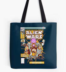 Alien Wars Tote Bag