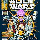 Alien Wars by Scott Weston
