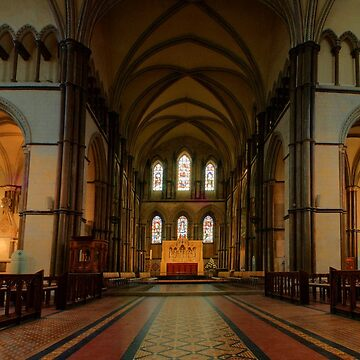 Rochester Cathedral Sanctuary and Quire Transcepts HDR by RWTA