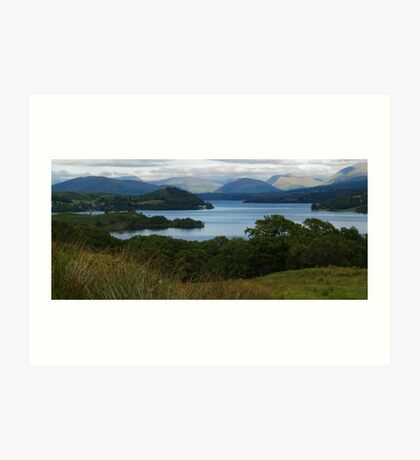 Loch Awe Art Print