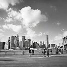 Manhattan Skyline by Claire Penn
