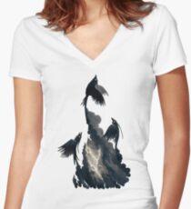 Stormbringers Women's Fitted V-Neck T-Shirt