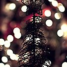 Christmas Tree Silhouette by Luke Prudence
