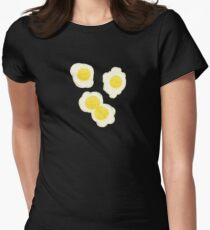 Fried Eggs Womens Fitted T-Shirt