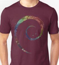 Colorful Debian Unisex T-Shirt