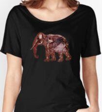 Animalia : Elephant Women's Relaxed Fit T-Shirt