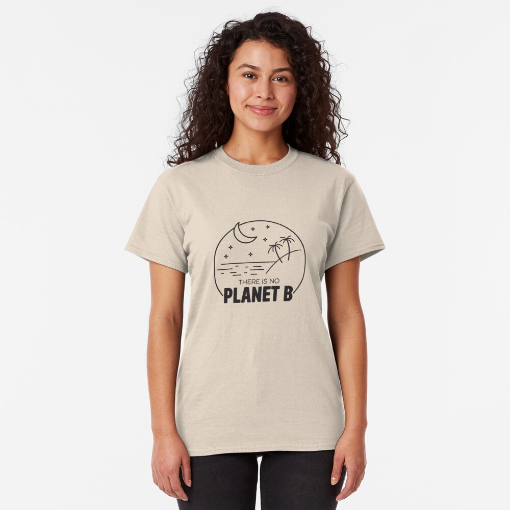 No Plan B - Black Classic T-Shirt