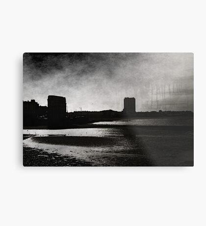 On Margate sands I can connect nothing with nothing Metal Print