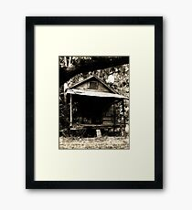 Wash House Framed Print