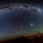 Night Sky Over Tekapo by Russell Charters