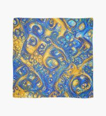 Deep Dream abstraction Scarf