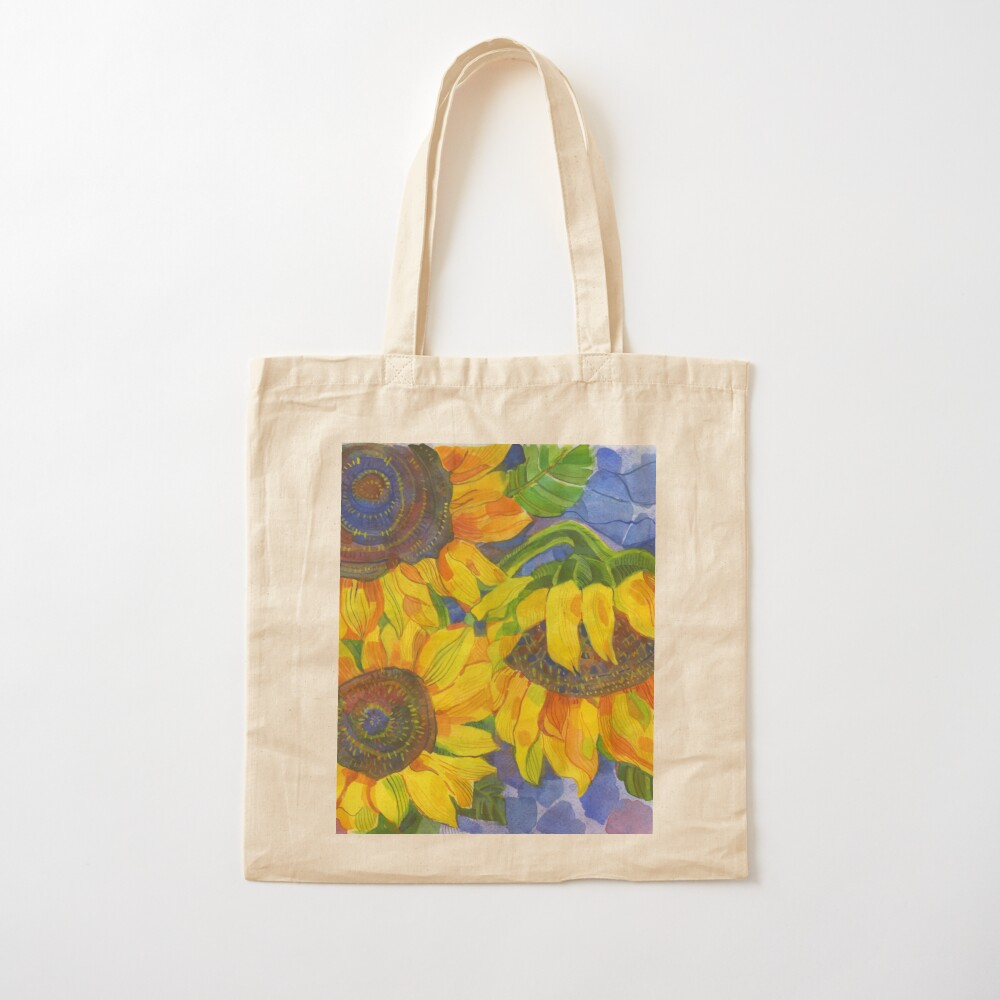 Sunflowers Cotton Tote Bag