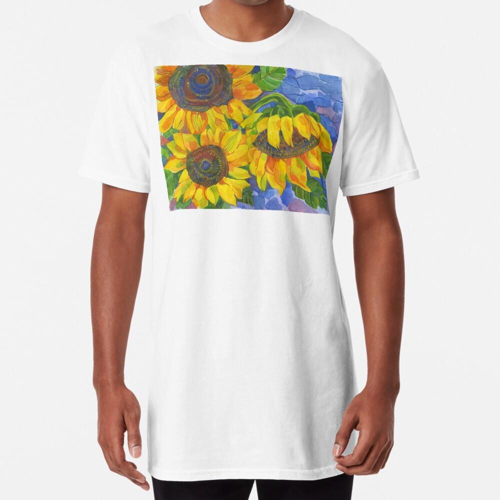 Sunflowers Long T-Shirt