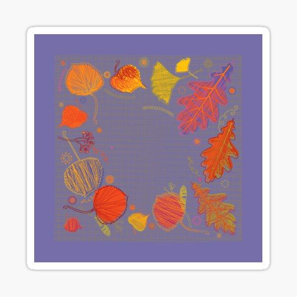Beautiful Autumn Glossy Sticker