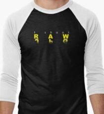 Raw shooter photographer Men's Baseball ¾ T-Shirt