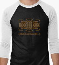 Photographer camera viewfinder Men's Baseball ¾ T-Shirt