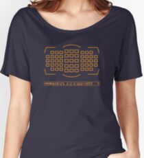 Photographer camera viewfinder Women's Relaxed Fit T-Shirt