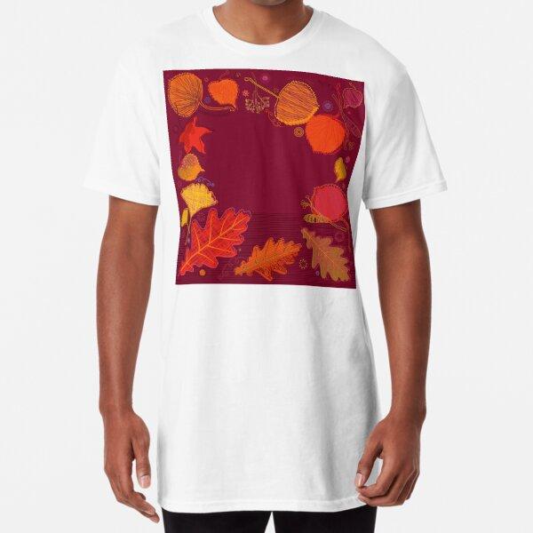 Autumn Leaves Long T-Shirt