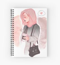 Coffee Luv Spiral Notebook