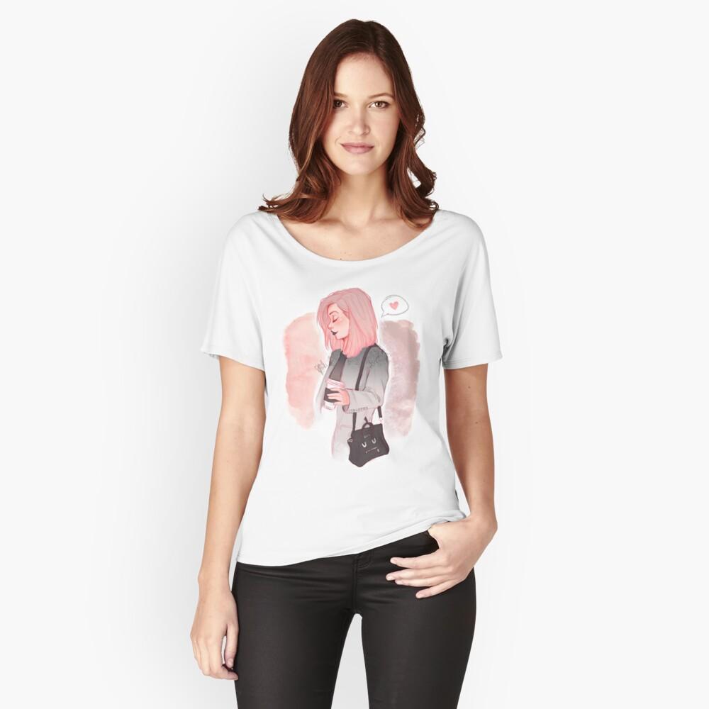 Kaffee Luv Loose Fit T-Shirt