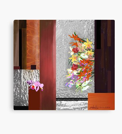 """Orchids"" Canvas Print"