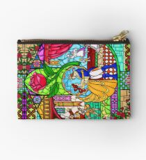 Patterns of the Stained Glass Window Zipper Pouch
