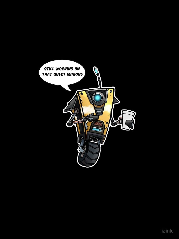 Borderlands Claptrap by iainlc