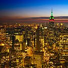 View From 30 Rock by Michael  Petrizzo