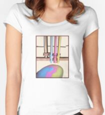 dream machine Women's Fitted Scoop T-Shirt