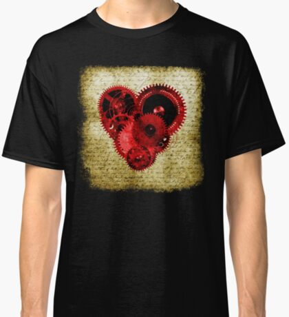 Vintage Steampunk Heart Classic T-Shirt