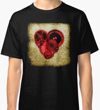 Vintage Steampunk Heart Classic T-Shirt