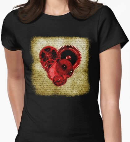 Vintage Steampunk Heart T-Shirt