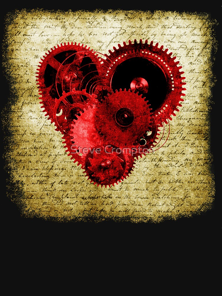 Vintage Steampunk Heart by SC001
