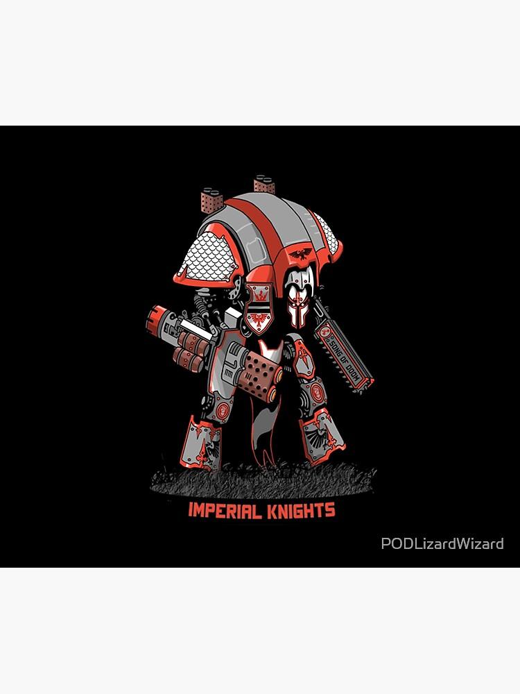 Imperial Knight Character Model Warhammer 40K by PODLizardWizard