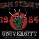 Elm St. University by Paula García