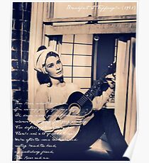 Moon River - Breakfast at Tiffany's Poster