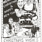 1999 Christmas Card by Gary Shaw