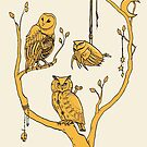 Clockwork Owls by tanaudel
